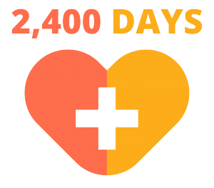 Infographic - 2400 Days